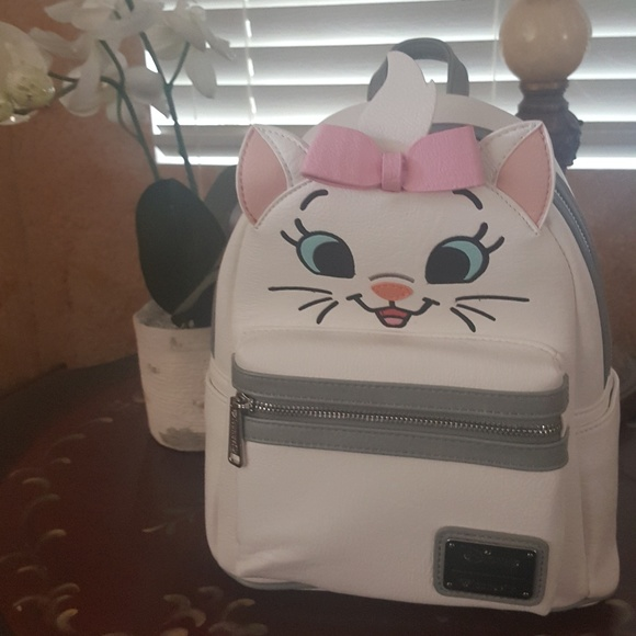 c6c68a07825 Disney Loungefly Marie Aristocats Mini Backpack